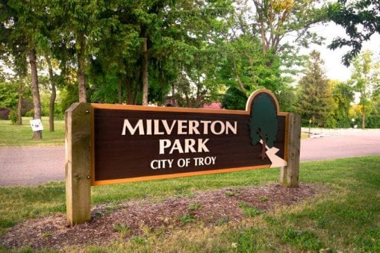 Milverton Park in Troy #oaklandcounty Visitor's Guide and Photos