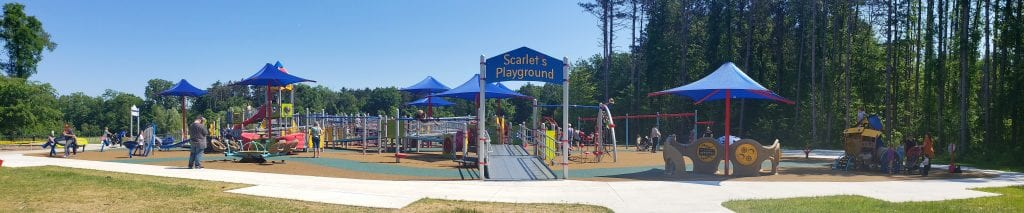 Scarlet's Playground Panoramic Photo