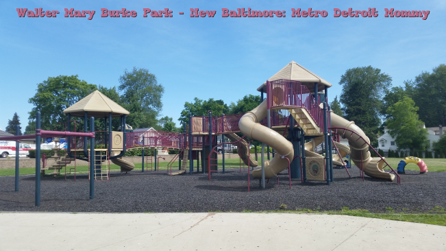 Beach and Playground Fun at Walter and Mary Burke Park