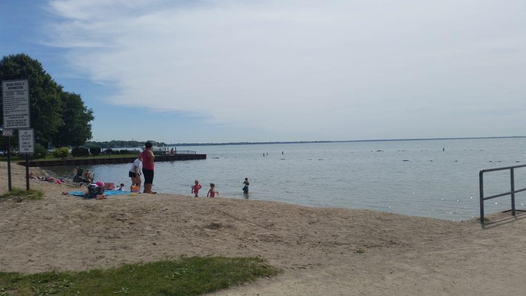 Walter and Mary Burke Park Beach