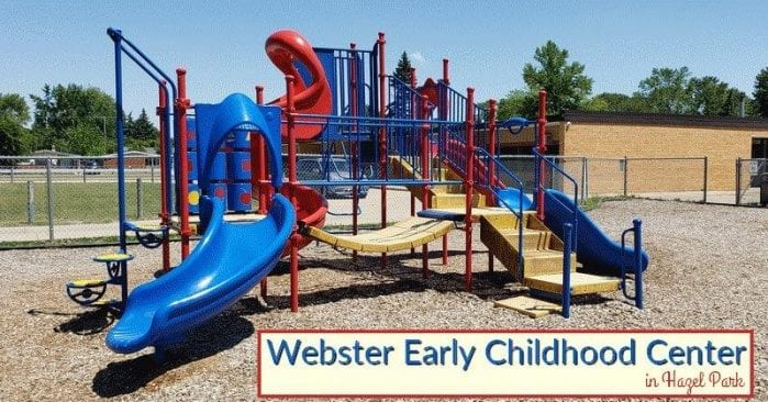 Webster Early Childhood  Playground Visitor's Guide and Photos