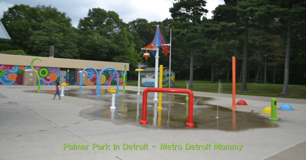 Palmer Park Splash Pad