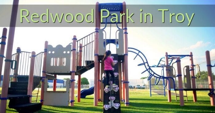 Redwood Park in Troy, Michigan Visitor's Guide and Photos
