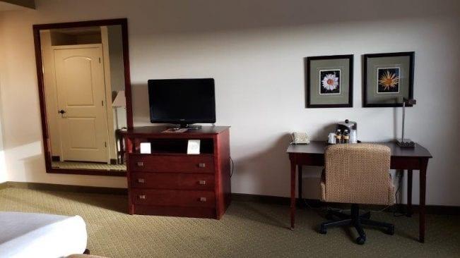 King Bed Hotel Room at Island Resorts