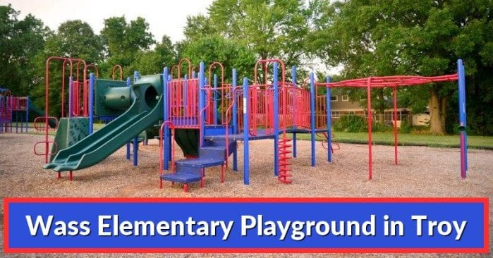 Wass Elementary School Playground in Troy: Visitor's Guide and Photos