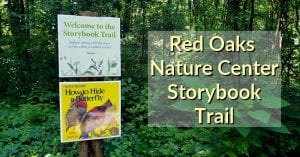 Red Oaks Nature Center Storybook Trail