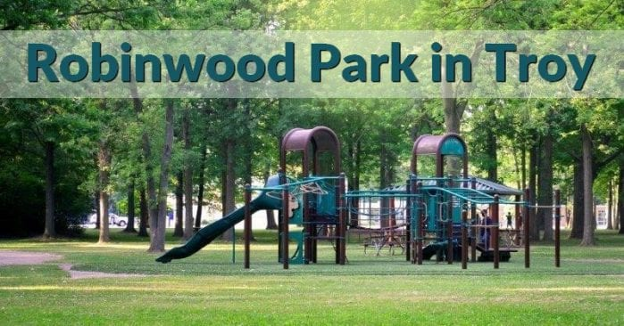 Robinwood Park in Troy, Michigan Visitor's Guide and Photos