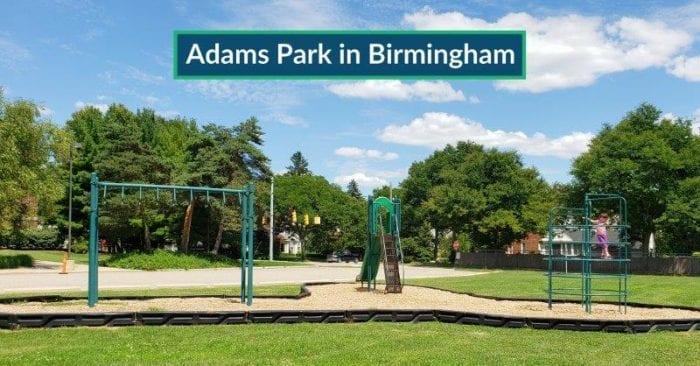 Adams Park in Birmingham: a Small Neighborhood Park