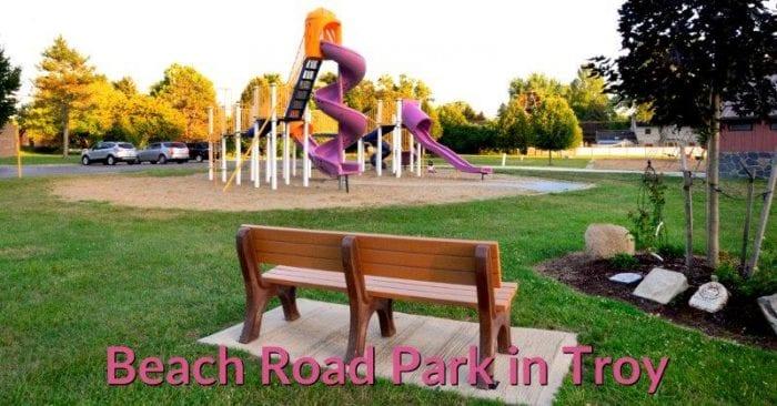 Beach Road Park in Troy #oaklandcounty