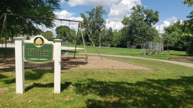 Victory Park Flynn Field in Pleasant Ridge