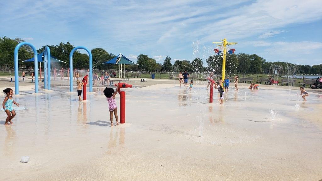 Lake St. Clair Metropark Splash Pad