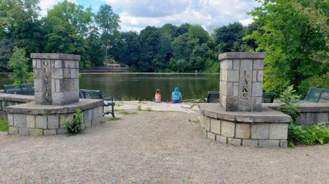 Lower Balwin Park on Quarton Lake