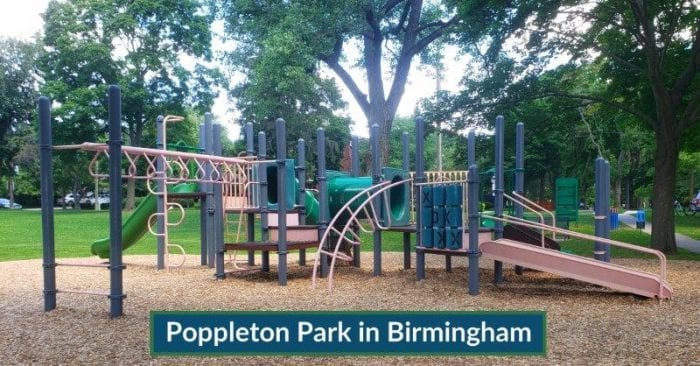 Poppleton Park in Birmingham