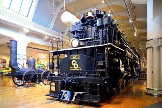 Railroads exhibit at The Henry Ford Museum