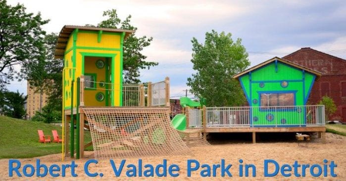 Robert C. Valade Park in Detroit Visitor's Guide & Photo Gallery