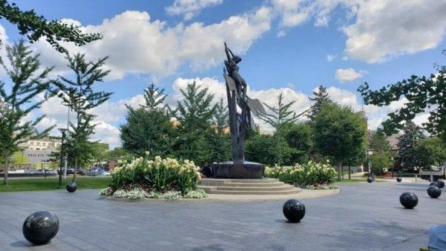 'Freedom of the Human Spirit'; Birmingham, Michigan