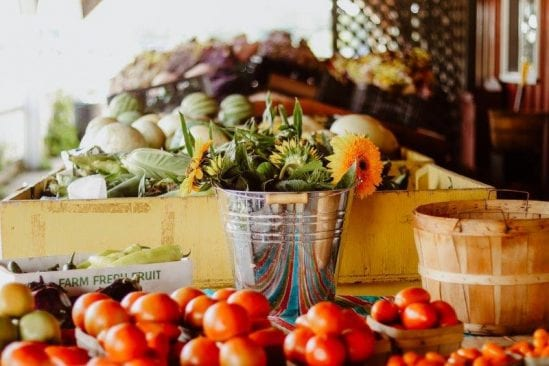 Vanhoutte Farms offers fresh U-pick flowers as well as fruits and vegetables.