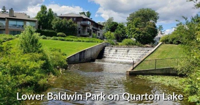 Lower Baldwin Park on Quarton Lake in Birmingham