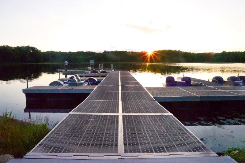 Dock at Addison Oaks in Leonard