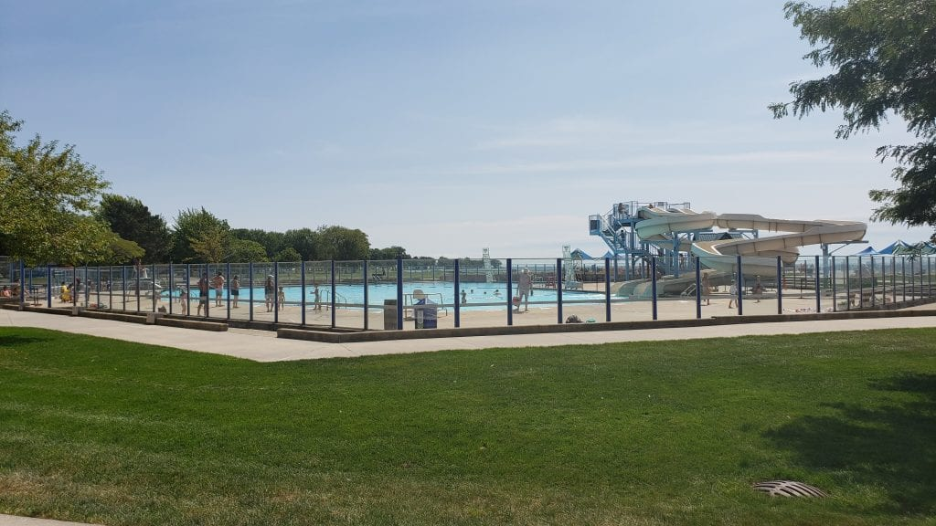 Lake St. Clair's Metropark Pool