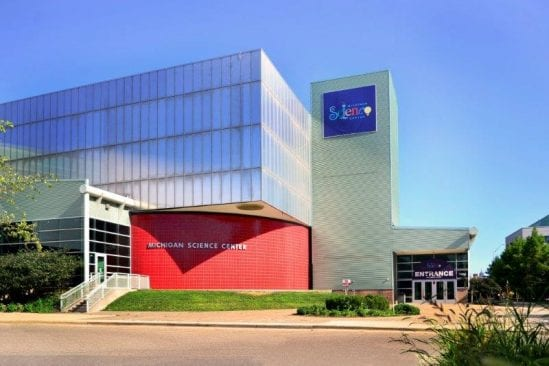 get free admission to the Detroit Science Center through the Museums on Us program.