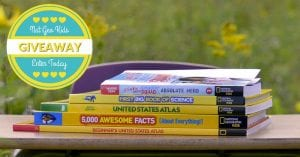 National Geographic Kids – Back To School Books Giveaway
