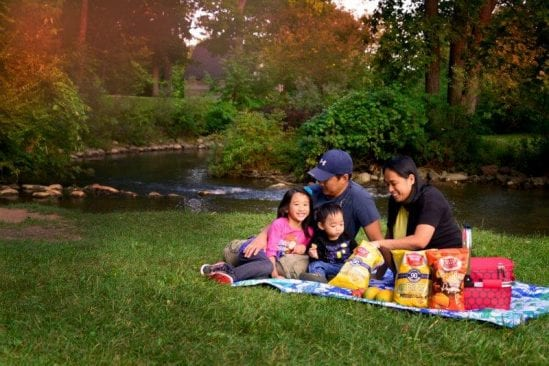 Picnicking at Rochester Municipal Park