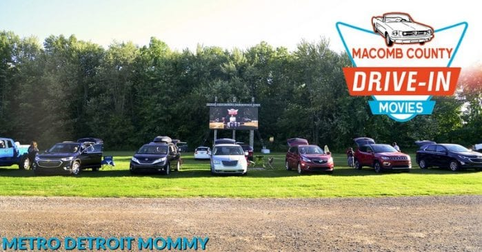 Macomb County Drive-In Movies at Freedom Hill