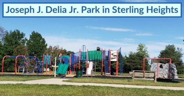 Joseph J. Delia Jr. Park in Sterling Heights
