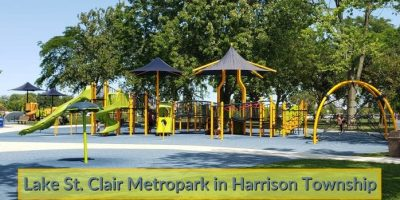 Lake St. Clair Metropark in Harrison Township Visitor's Guide and Photos