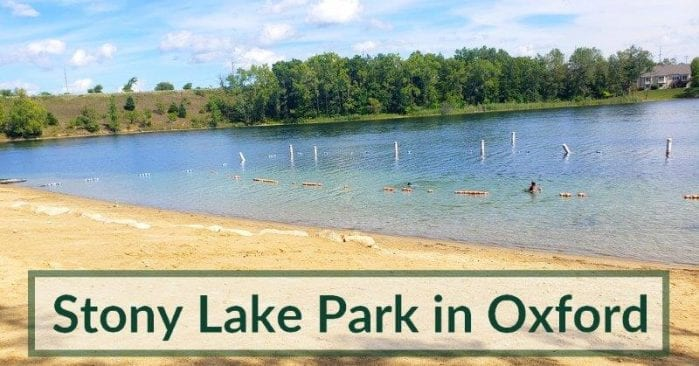 Stony Lake Park in Oxford Township Visitor's Guide and Photos