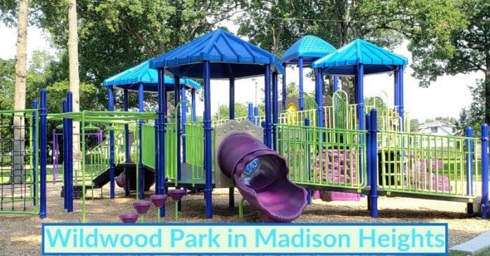Recently Updated Wildwood Park in Madison Heights