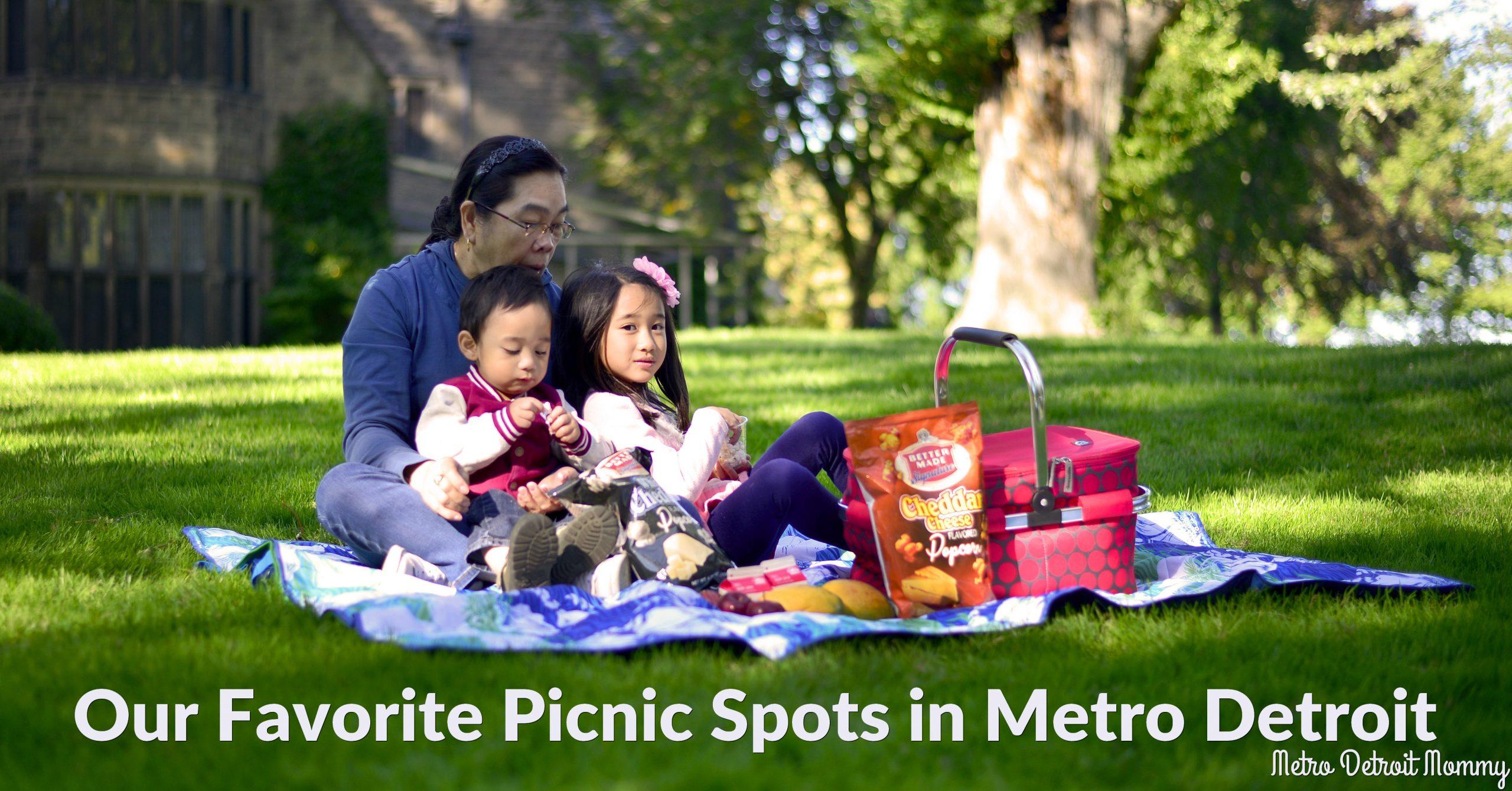 Twenty Great Metro Detroit Picnic Spots