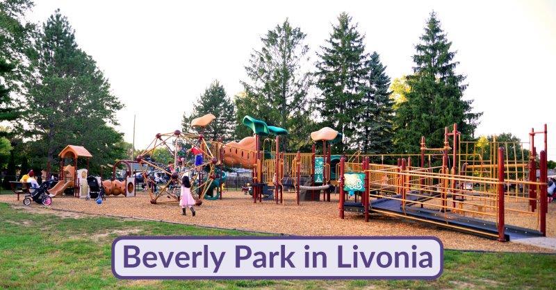 Beverly Park  in Livonia – (Sunset Park) Neighborhood Park
