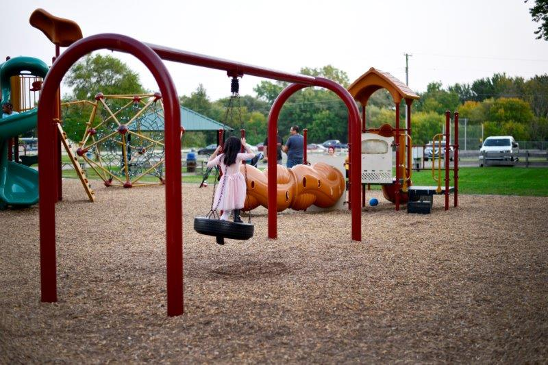 Tire Swing at Beverly Park