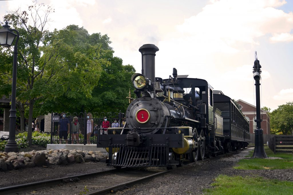 Ride a real train in Dearborn
