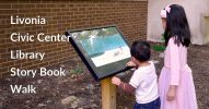 Livonia Civic Center Library Story Book Walk