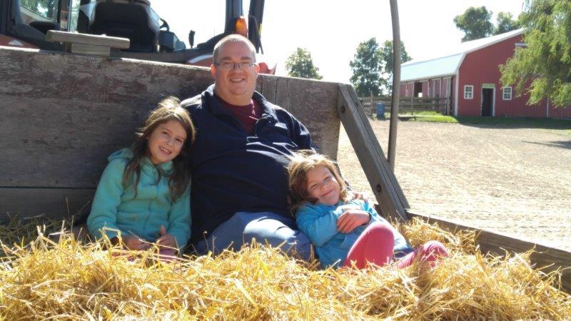 Hayride at the Upland Hills Farm Fall Festival