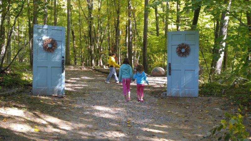 Storybook Trail at Upland Hills Farm Fall Festival