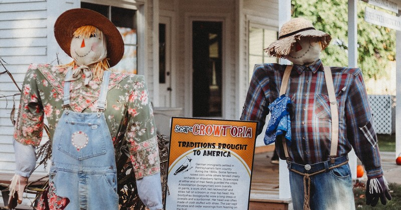 Scarecrowtopia Trick or Treat at the Troy Historic Village