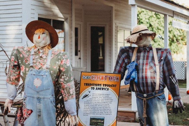 Troy Historic Village Scarecrowtopia