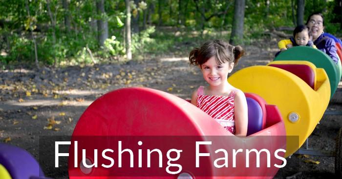 Flushing Farms Fall Fun – 3 Corn Mazes, Petting Farm & More