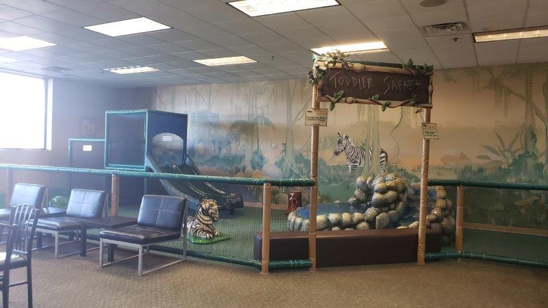 toddler area at Jungle Java Play Café in Farmington Hills