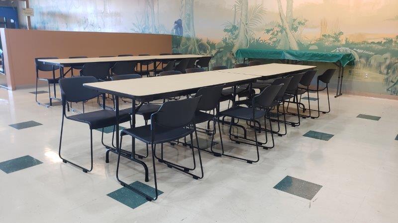 Jungle Java in Farmington Hills party tables