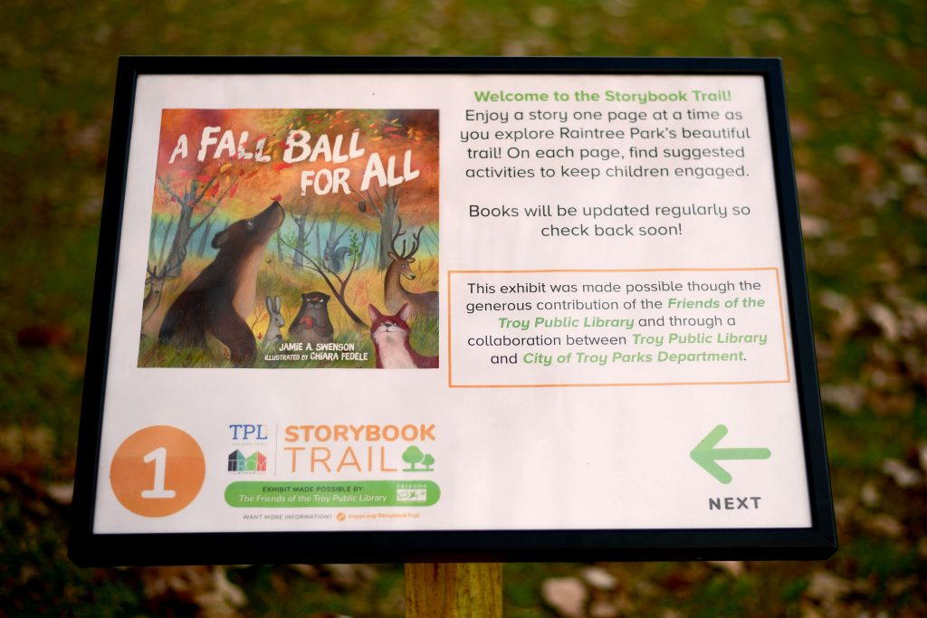 Troy Public Library Storybook Trail