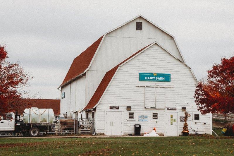Wolcott Mill Farm Center Dairy Barn