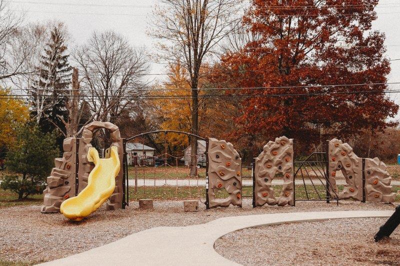 Wolcott Mill Farm Center Playground
