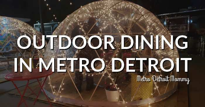 Outdoor Dining in Metro Detroit Igloo Dining Patio Dining