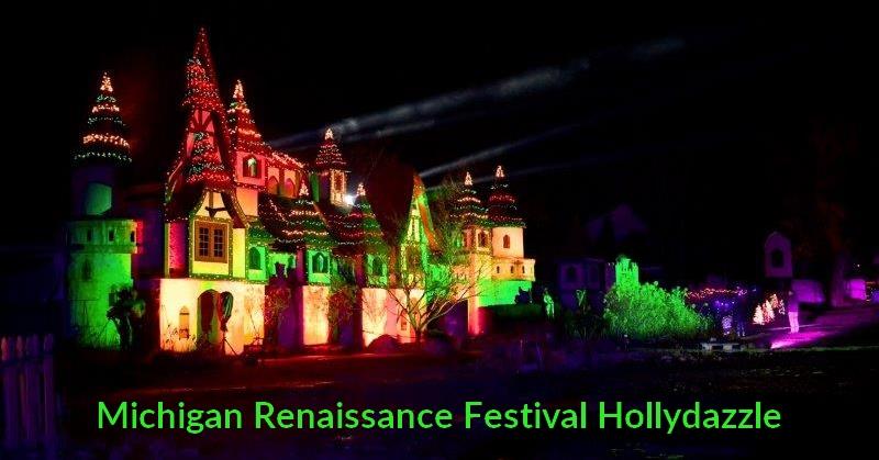 HollyDazzle Michigan Renaissance Festival Christmas Experience