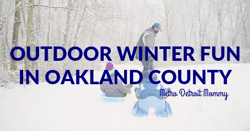 outdoor winter activities in Oakland County